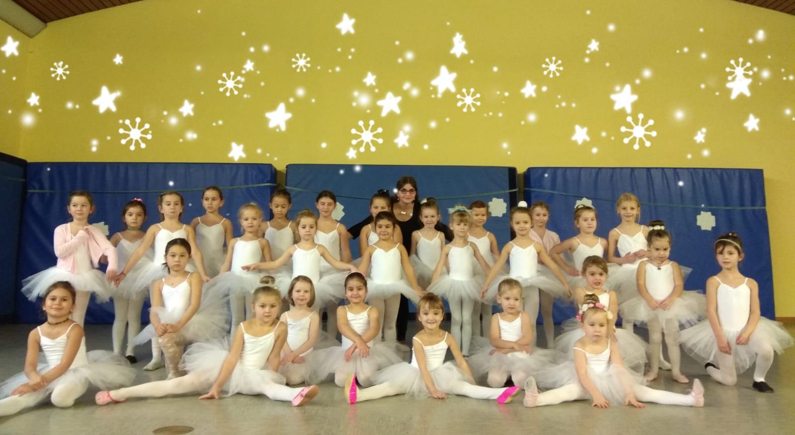 Ballett-Gruppe